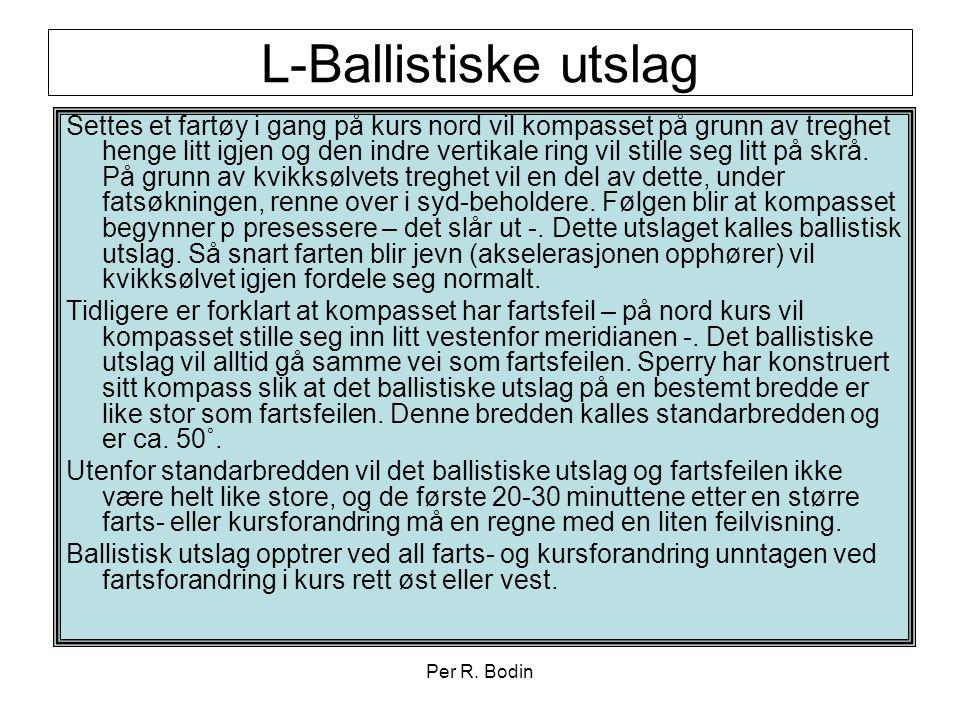 L-Ballistiske utslag