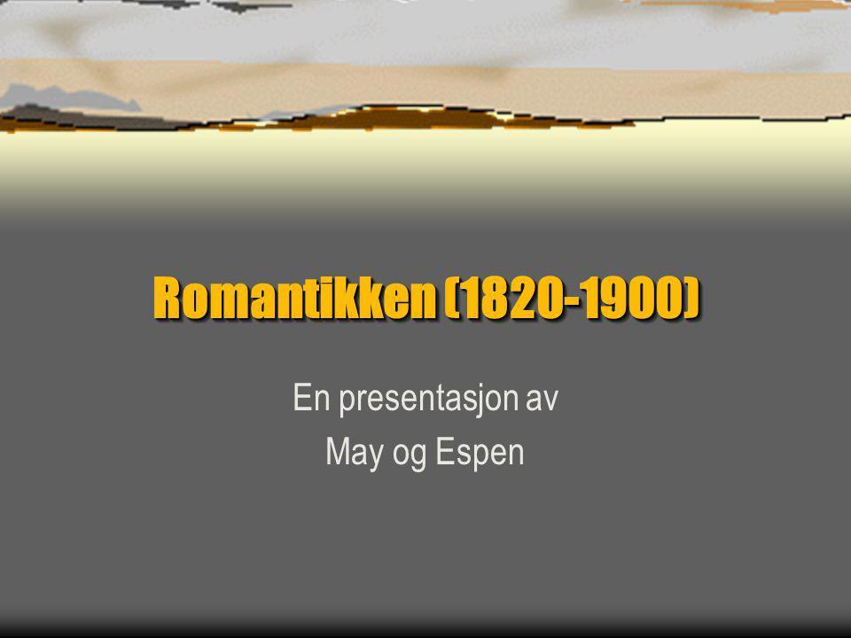 En presentasjon av May og Espen