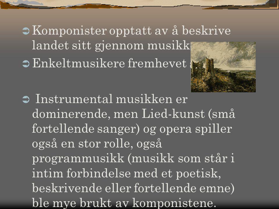 Komponister opptatt av å beskrive landet sitt gjennom musikken