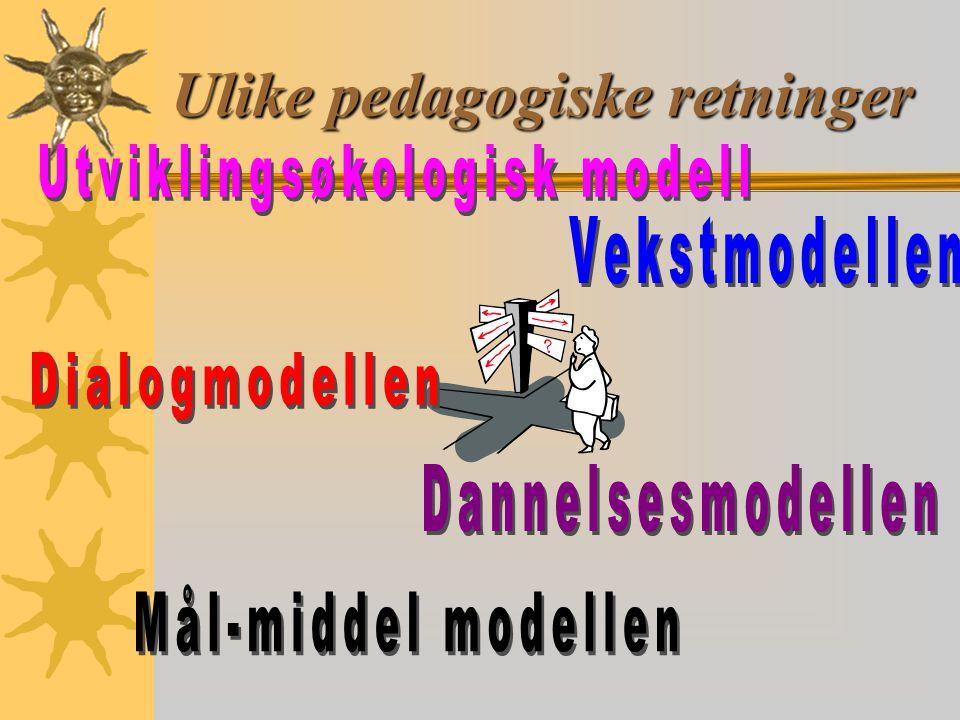 Ulike pedagogiske retninger