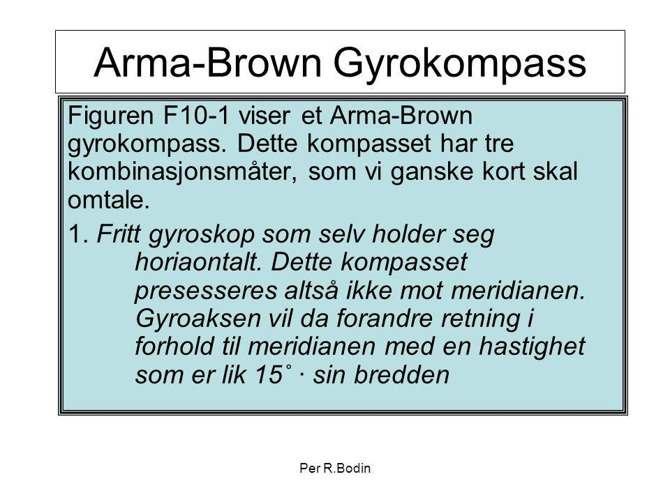 Arma-Brown Gyrokompass