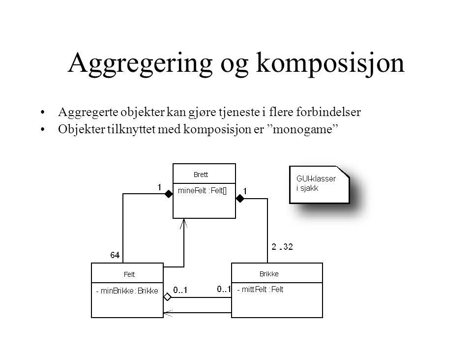 Aggregering og komposisjon