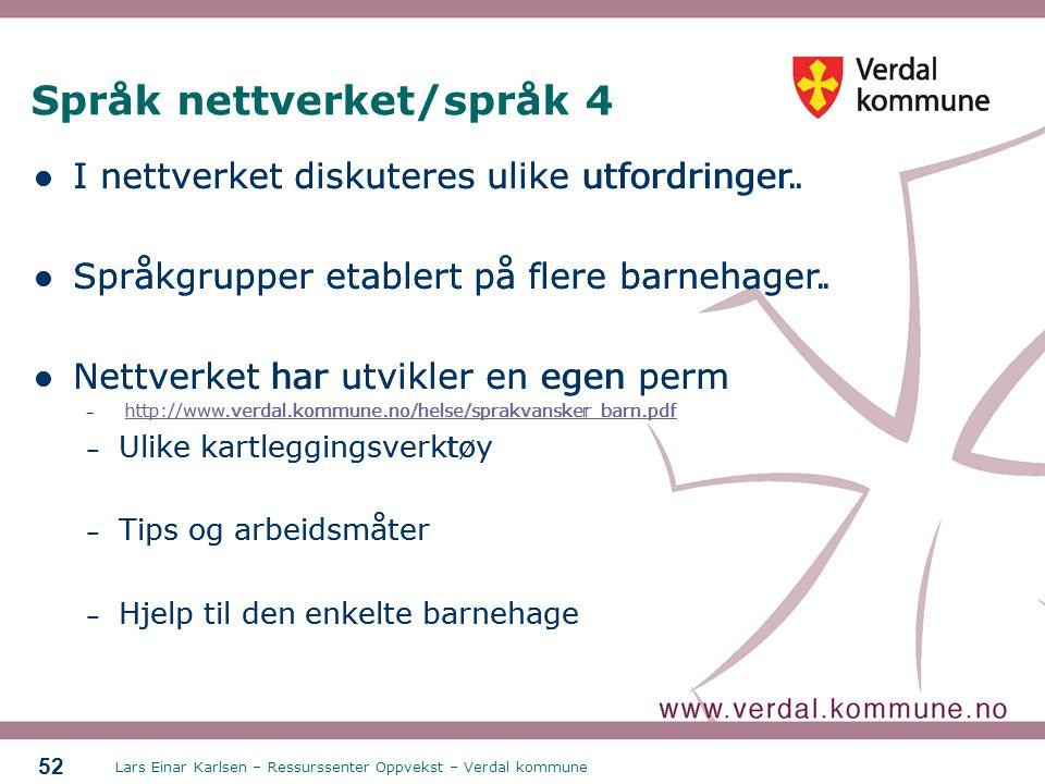 Språk nettverket/språk 4