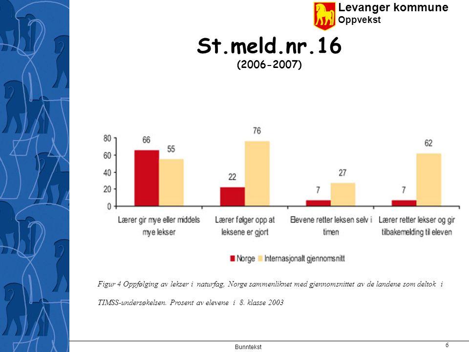St.meld.nr.16 (2006-2007)