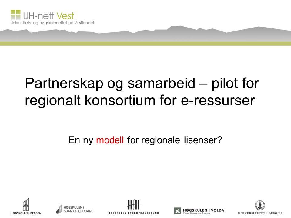 En ny modell for regionale lisenser