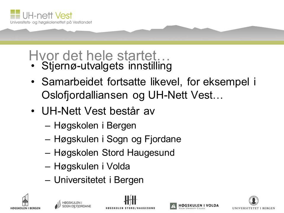 Hvor det hele startet… Stjernø-utvalgets innstilling