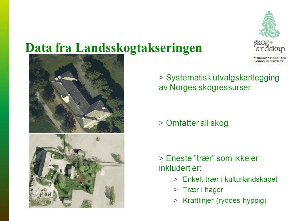 Data fra Landsskogtakseringen