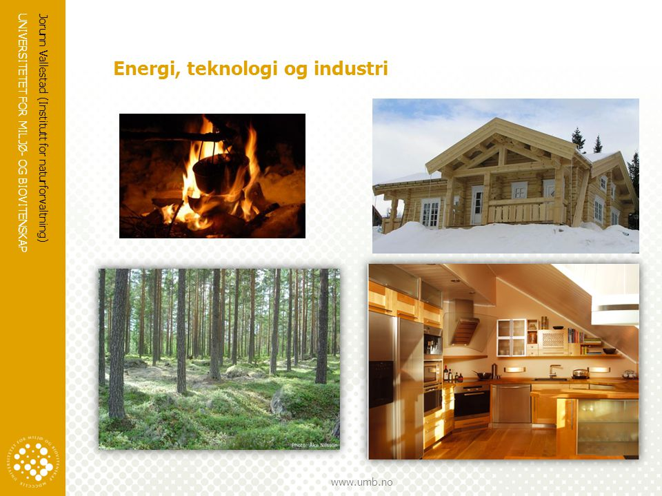 Energi, teknologi og industri