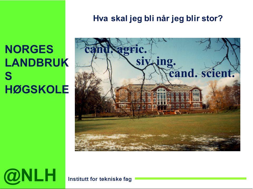NORGES LANDBRUKS HØGSKOLE