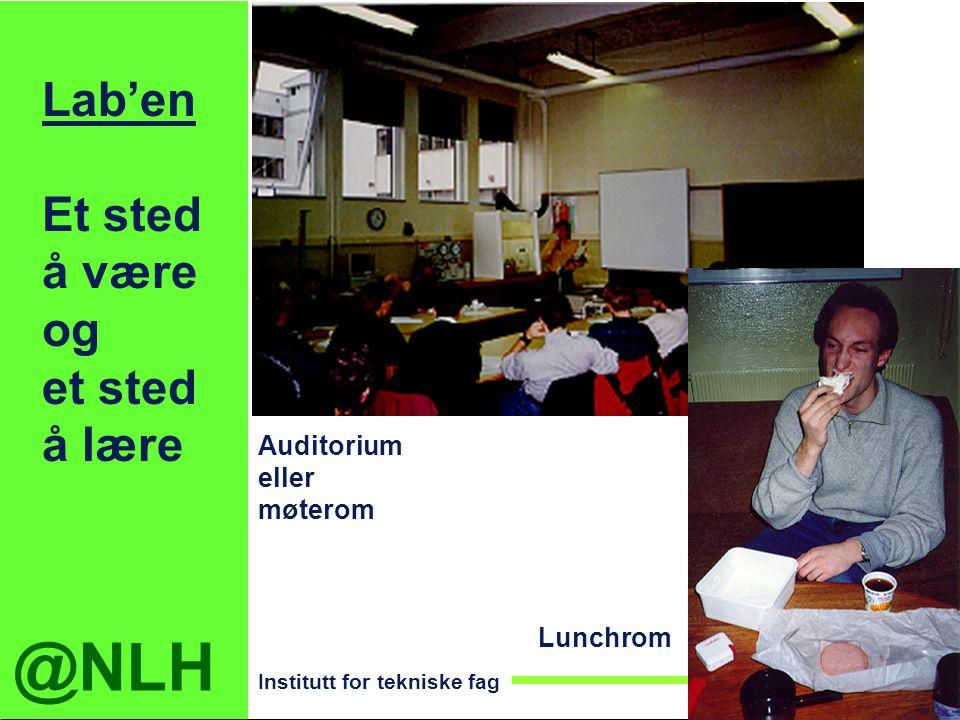 Lab'en Et sted å være og et sted å lære Auditorium eller møterom
