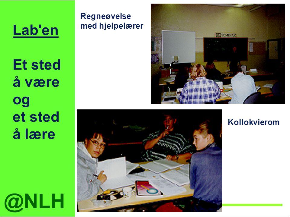 Lab en Et sted å være og et sted å lære Regneøvelse med hjelpelærer