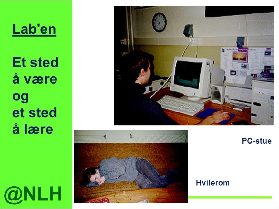 Lab en Et sted å være og et sted å lære PC-stue Hvilerom