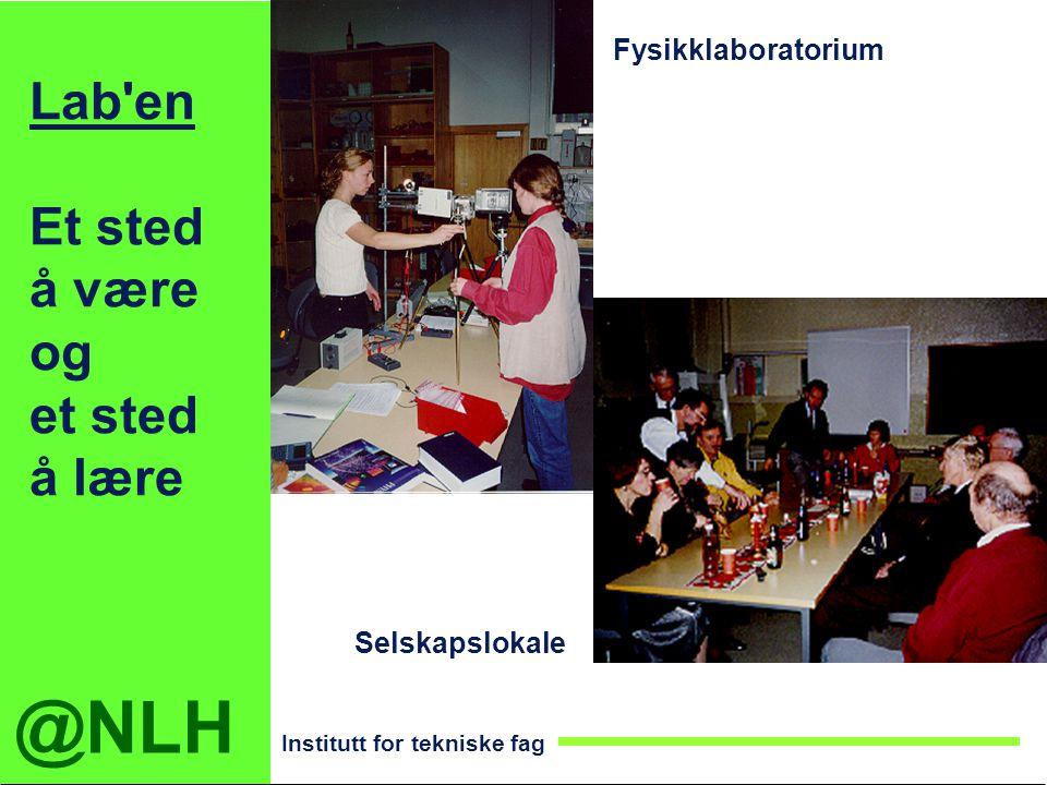 Lab en Et sted å være og et sted å lære Fysikklaboratorium
