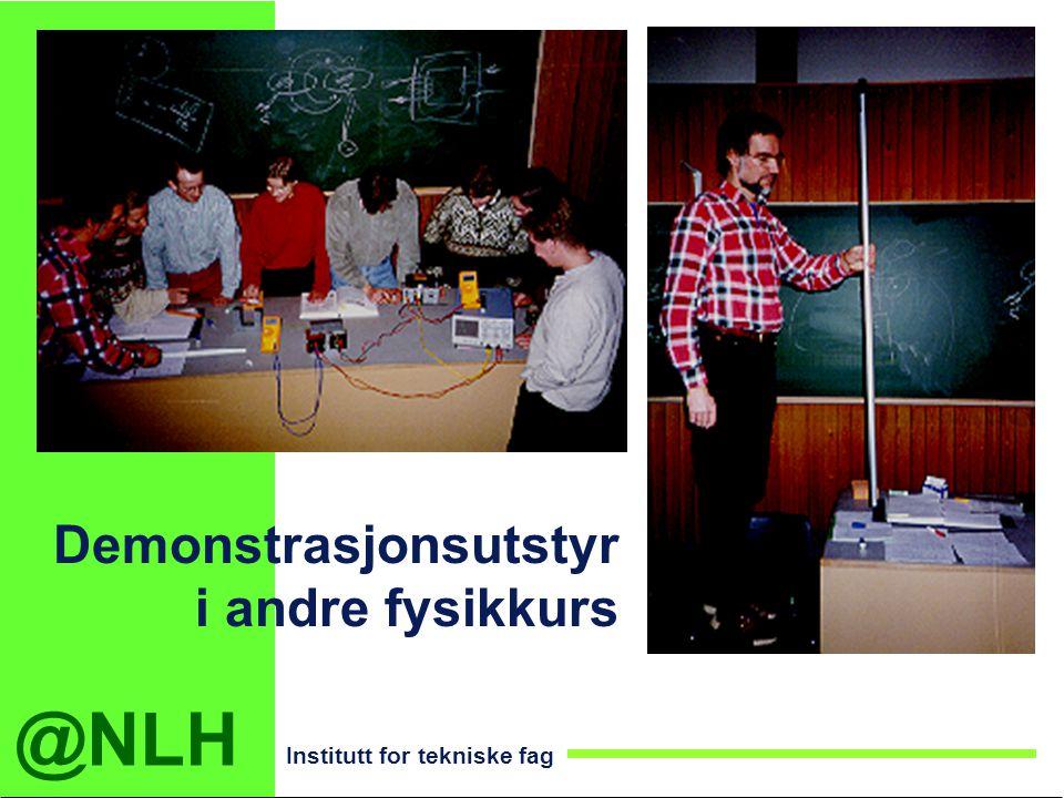 Demonstrasjonsutstyr i andre fysikkurs