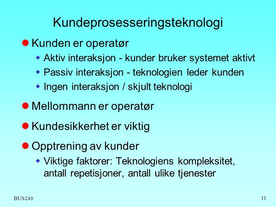 Kundeprosesseringsteknologi