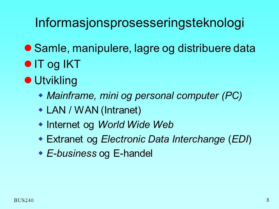 Informasjonsprosesseringsteknologi