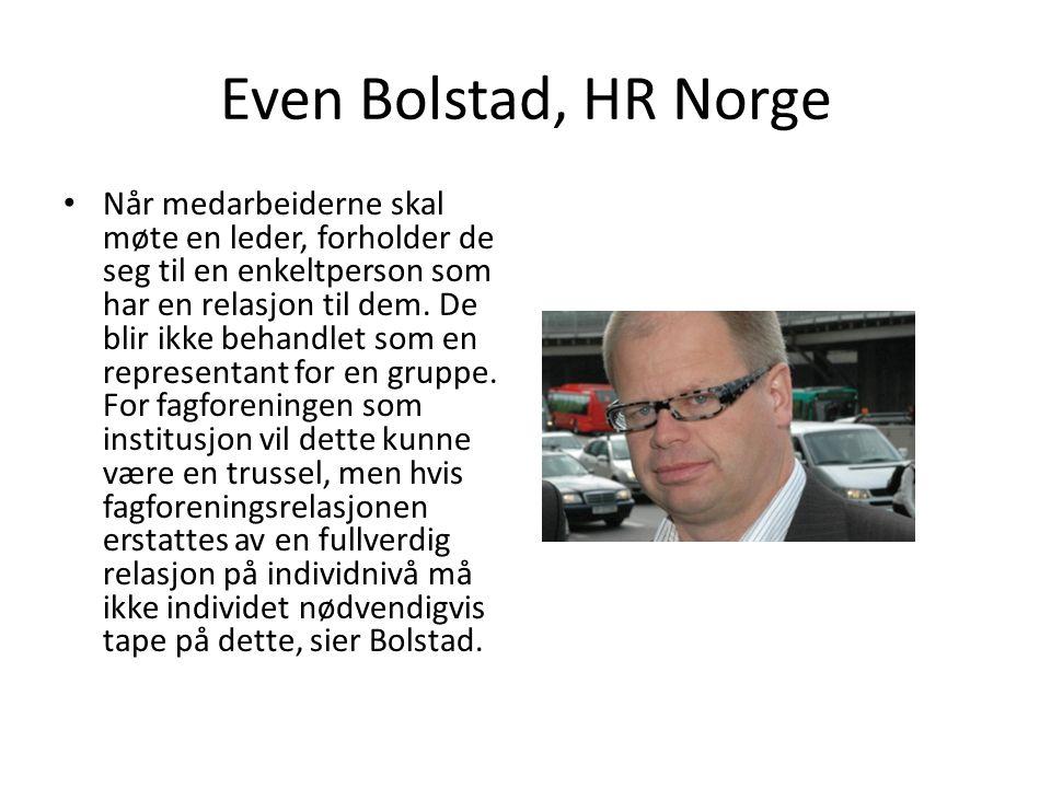 Even Bolstad, HR Norge