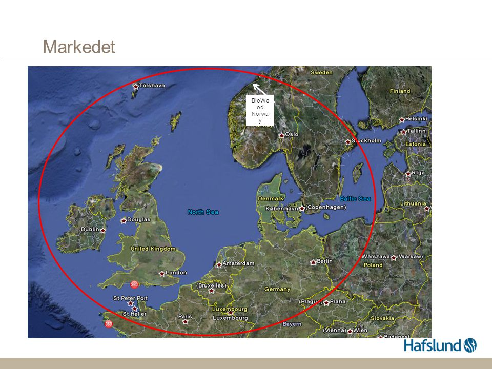 Markedet BioWood Norway
