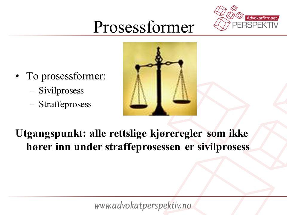 Prosessformer To prosessformer: