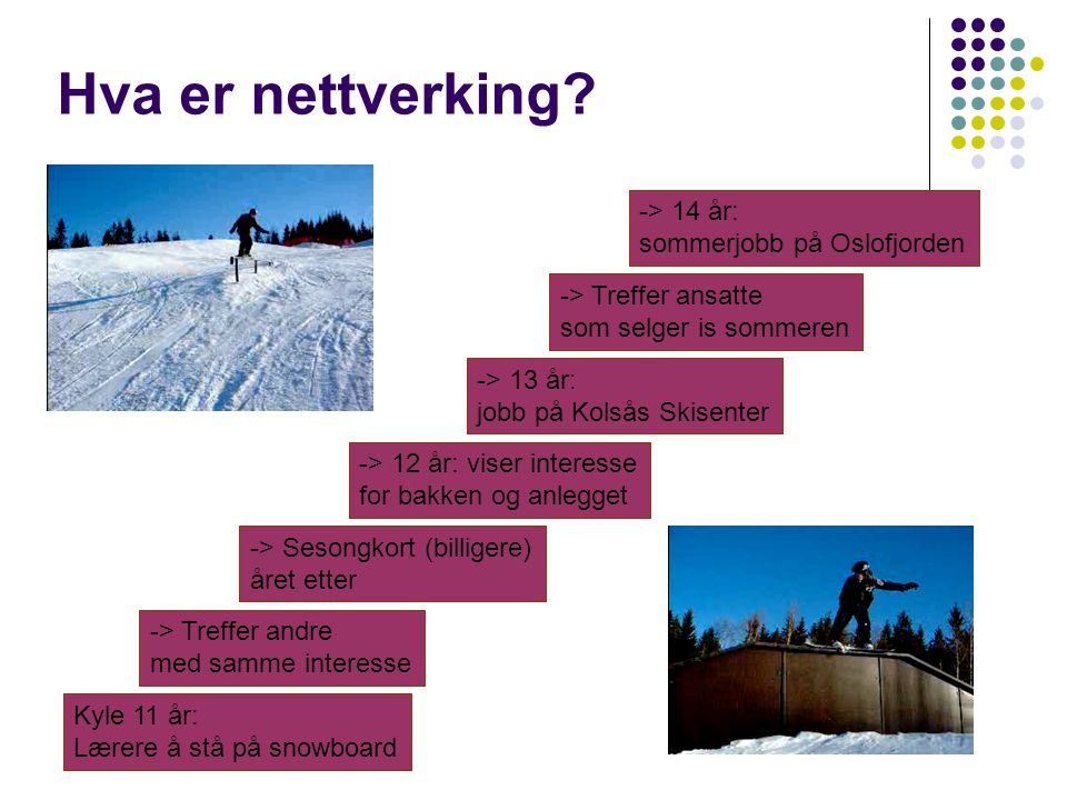 Hva er nettverking -> 14 år: sommerjobb på Oslofjorden