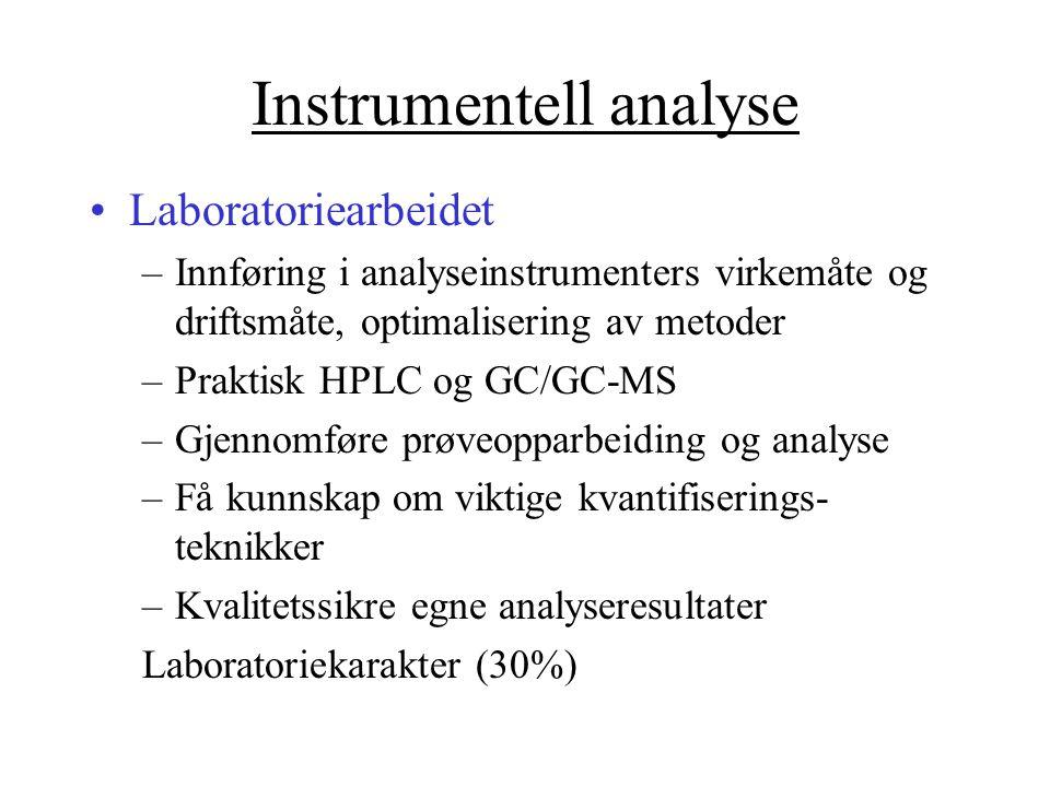 Instrumentell analyse