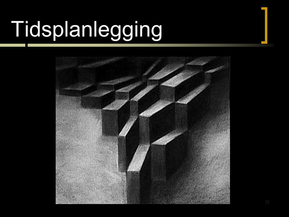 Tidsplanlegging