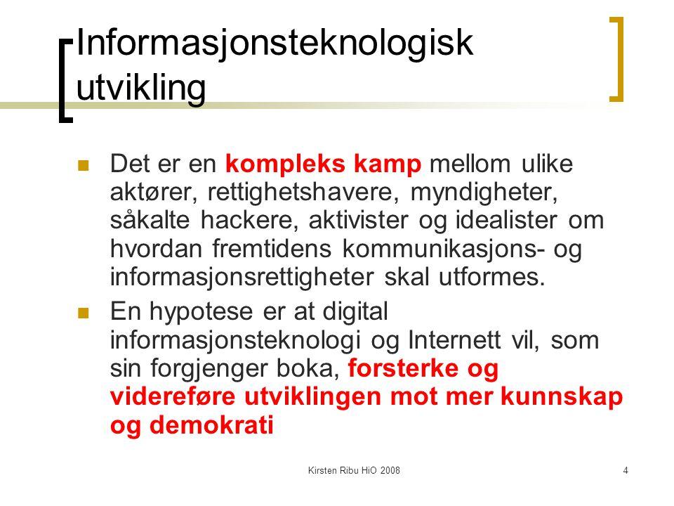 Informasjonsteknologisk utvikling
