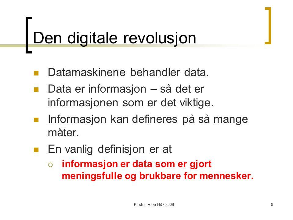 Den digitale revolusjon