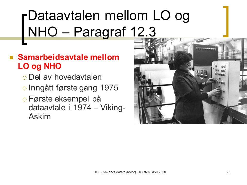 Dataavtalen mellom LO og NHO – Paragraf 12.3