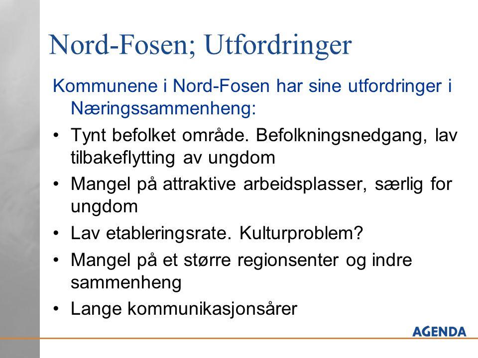 Nord-Fosen; Utfordringer