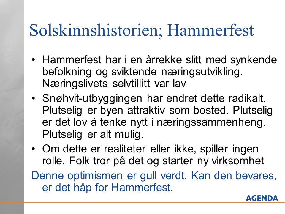 Solskinnshistorien; Hammerfest