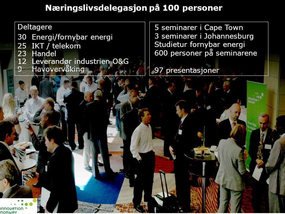 Næringslivsdelegasjon på 100 personer