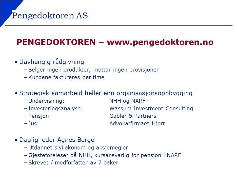 PENGEDOKTOREN – www.pengedoktoren.no