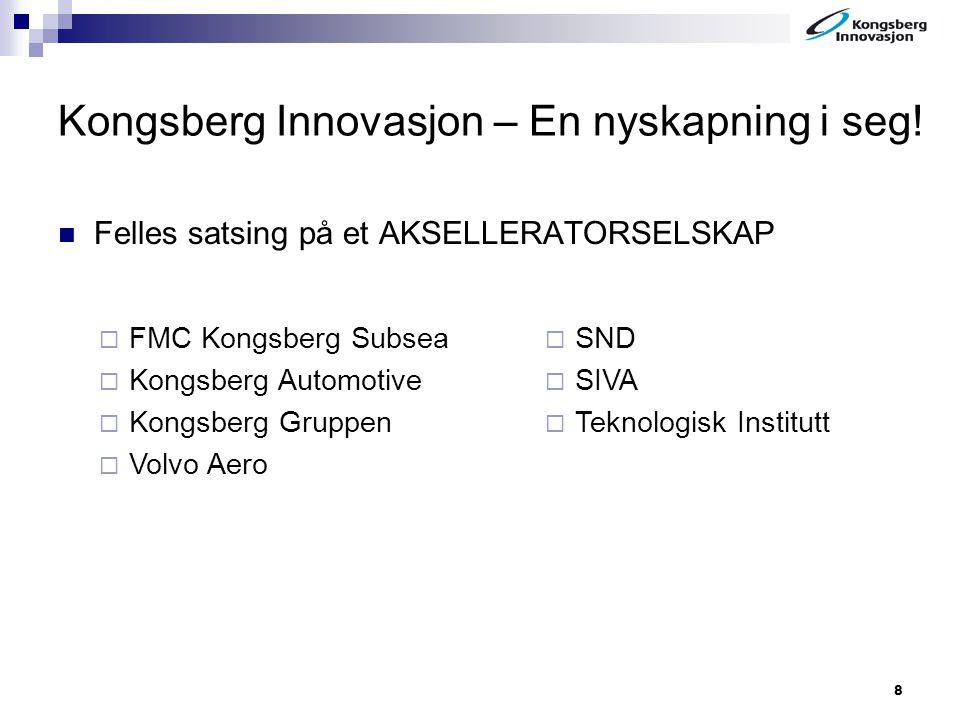 Kongsberg Innovasjon – En nyskapning i seg!