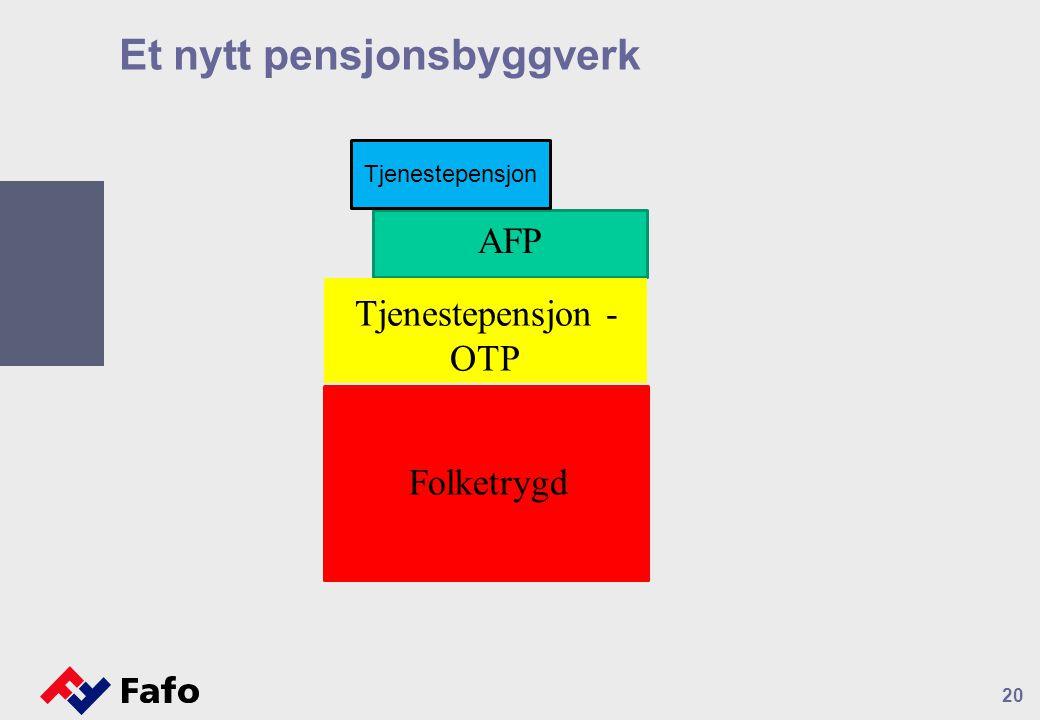 Et nytt pensjonsbyggverk