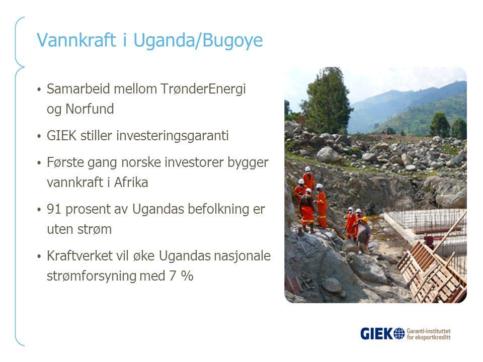 Vannkraft i Uganda/Bugoye