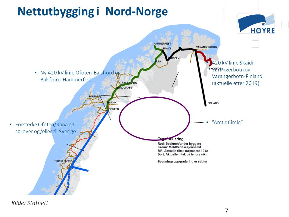 Nettutbygging i Nord-Norge