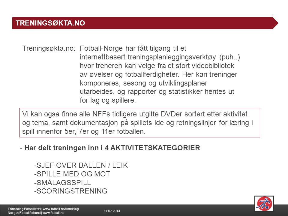 TRENINGSØKTA.NO