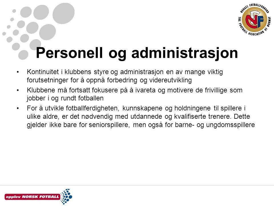 Personell og administrasjon