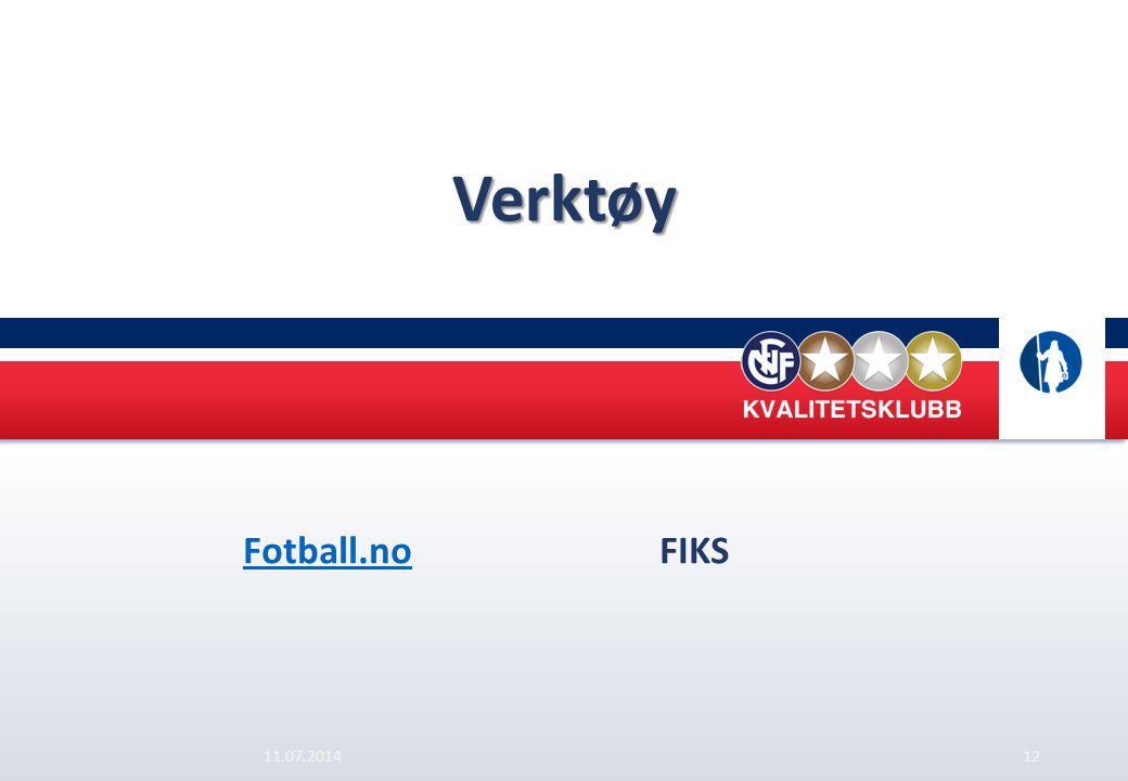 Verktøy Fotball.no FIKS 04.04.2017