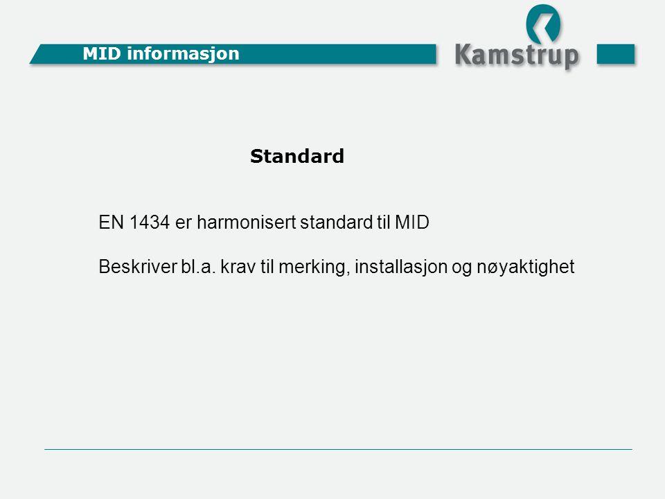 EN 1434 er harmonisert standard til MID