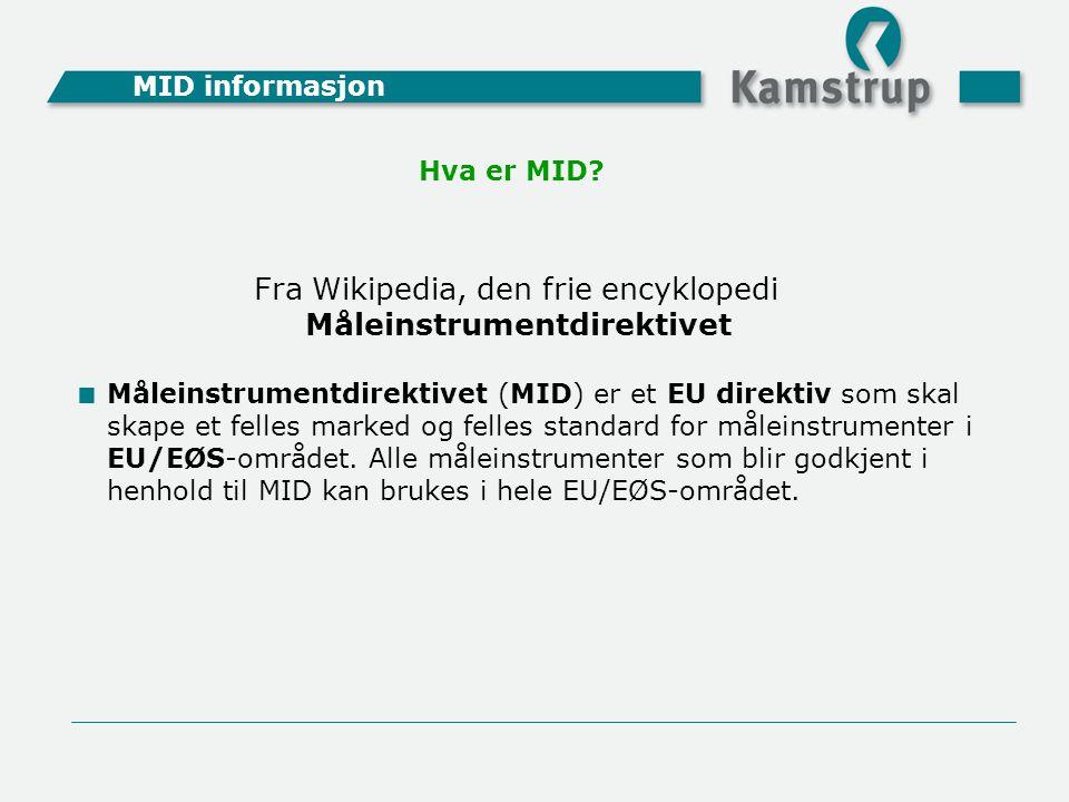 Måleinstrumentdirektivet