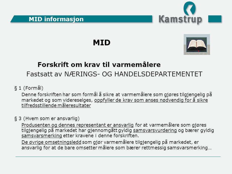 Fastsatt av NÆRINGS- OG HANDELSDEPARTEMENTET