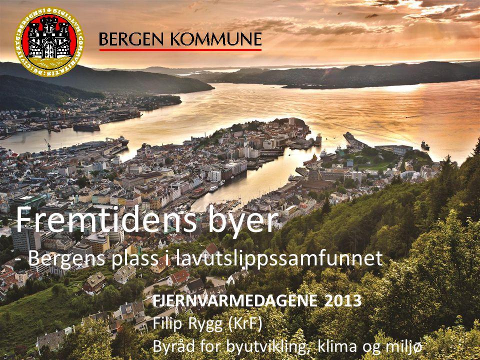 Fremtidens byer - Bergens plass i lavutslippssamfunnet