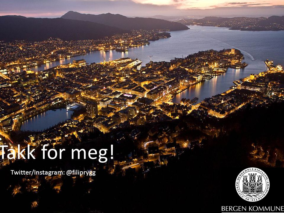 Takk for meg! Twitter/Instagram: @filiprygg