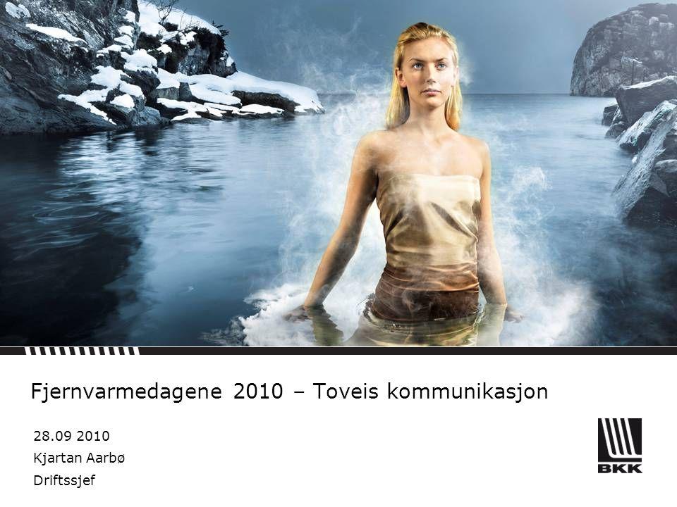 Fjernvarmedagene 2010 – Toveis kommunikasjon