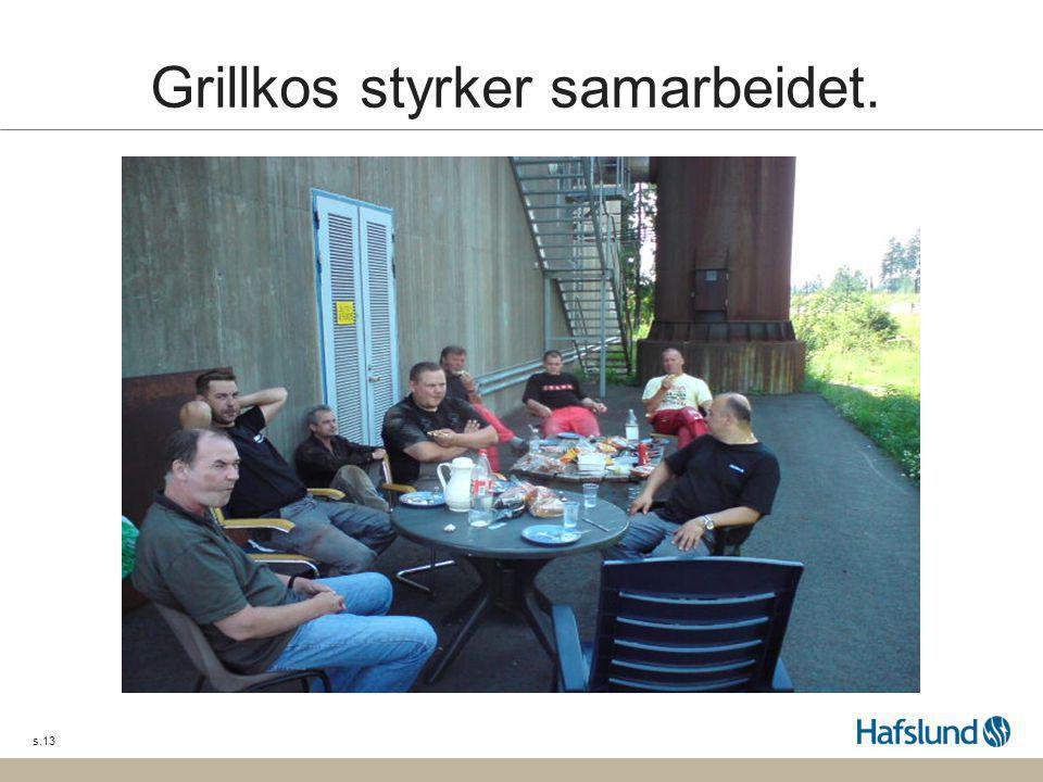 Grillkos styrker samarbeidet.