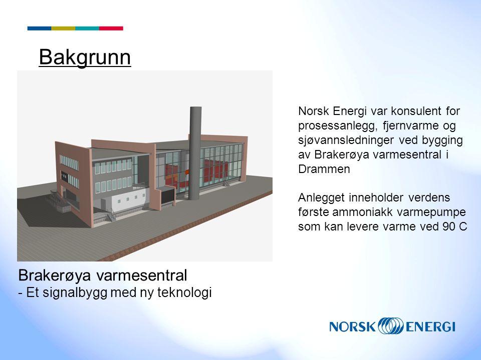 Bakgrunn Brakerøya varmesentral - Et signalbygg med ny teknologi