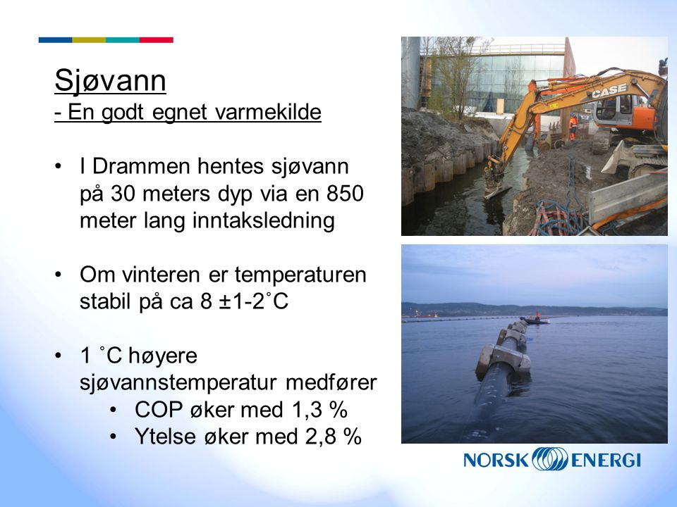 Sjøvann - En godt egnet varmekilde