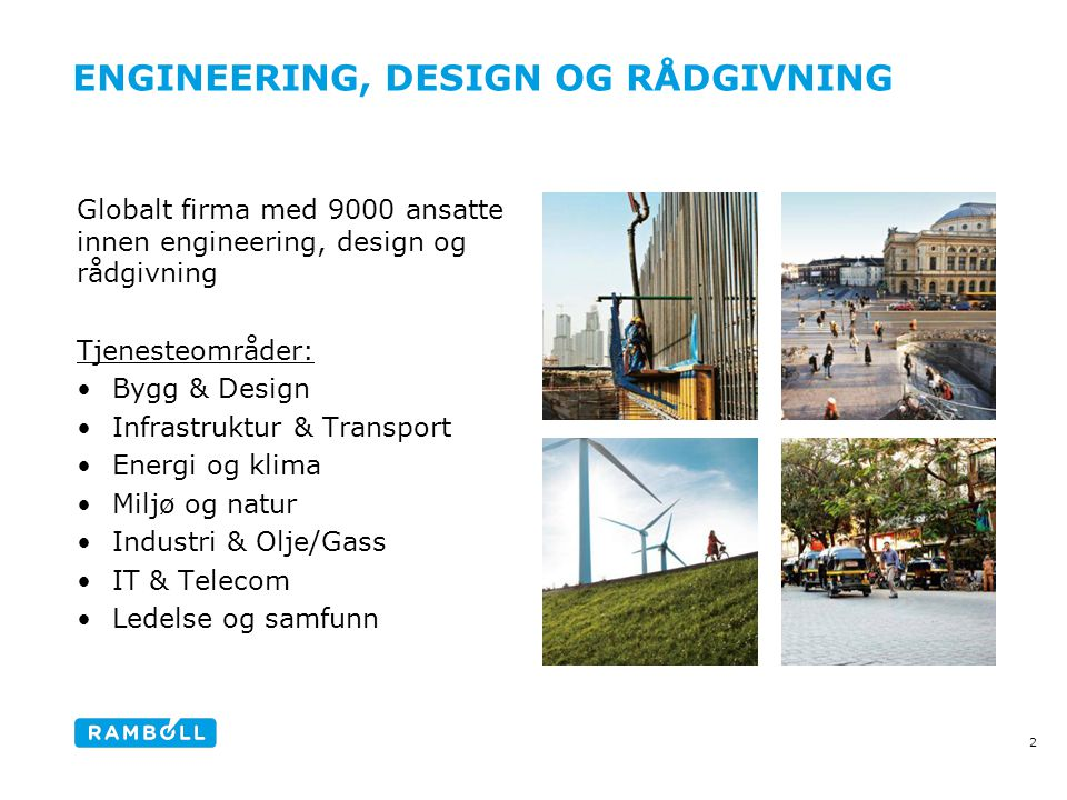 ENGINEERING, DESIGN OG RÅDGIVNING